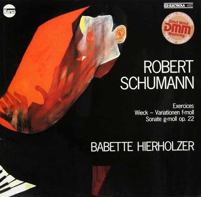 ヒアホルツァーのシューマン/ピアノソナタ第2番ほか 独Marus 3137 LP レコード