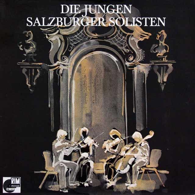 若き日のハーゲン四重奏団のモーツァルト/弦楽四重奏曲「不意協和音」ほか 独RIM 3137 LP レコード