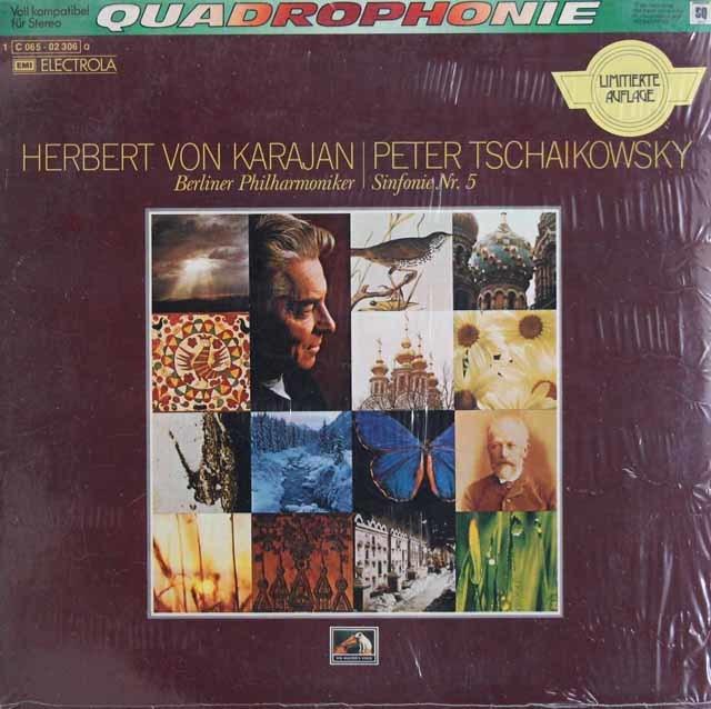 【未開封】カラヤンのチャイコフスキー/交響曲第5番&6番「悲愴」 独EMI 3138 LP レコード