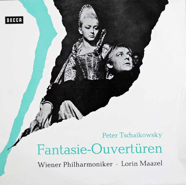 マゼールのチャイコフスキー/「ハムレット」&「ロメオとジュリエット」 独DECCA 3138 LP レコード