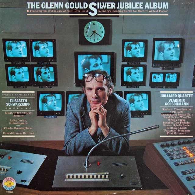 グールドのデビュー25周年記念アルバム 独CBS 3138 LP レコード