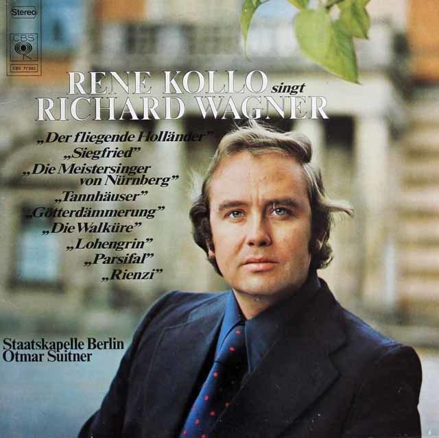 ルネ・コロ、ワーグナーを歌う 独CBS 3138 LP レコード