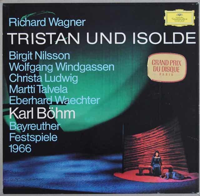 ベームのワーグナー/楽劇「トリスタンとイゾルデ」全曲 独DGG 3138 LP レコード