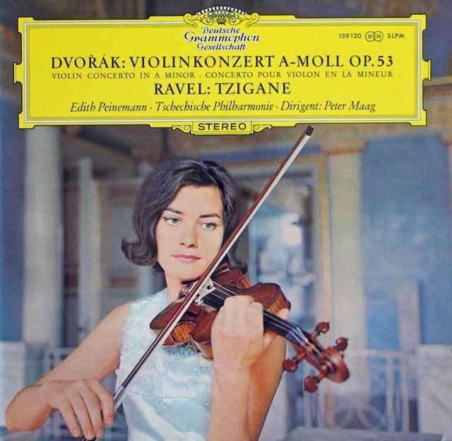 パイネマンのドヴォルザーク/ヴァイオリン協奏曲ほか 独DGG 3138 LP レコード