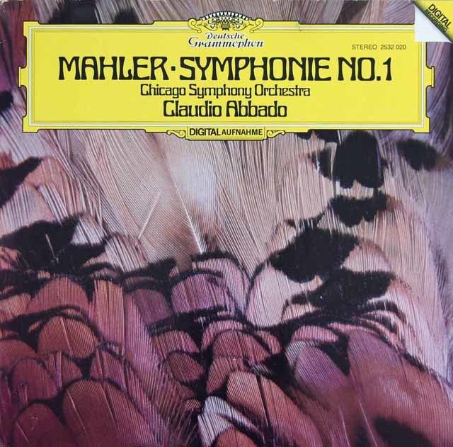 アバドのマーラー/交響曲第1番「巨人」 独DGG 3138 LP レコード