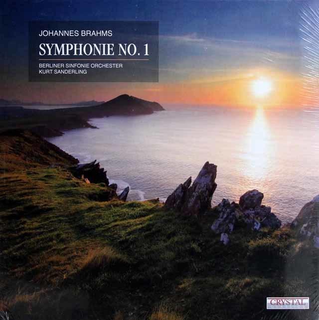 【未開封】ザンデルリンク、ベルリン響のブラームス/交響曲第1番  独Crystal Classics 3138 LP レコード