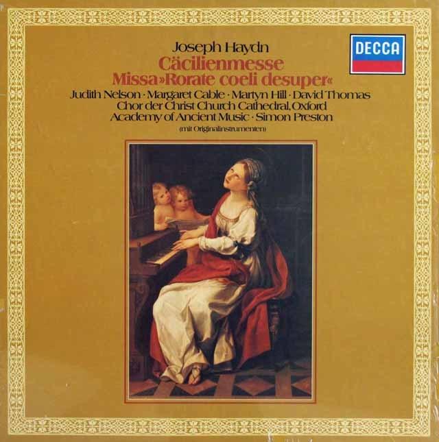 【未開封】プレストンのハイドン/「聖チェチリアのミサ」ほか 独DECCA 3138 LP レコード
