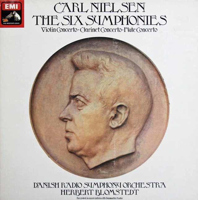 【オリジナル盤】ブロムシュテットのニールセン/交響曲全曲&協奏曲集 英EMI 3138 LP レコード