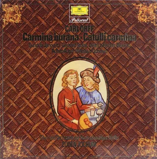 【未開封】ヨッフムのオルフ/「カルミナ・ブラーナ」&「カトゥーリ・カルミナ」 独DGG 3138 LP レコード