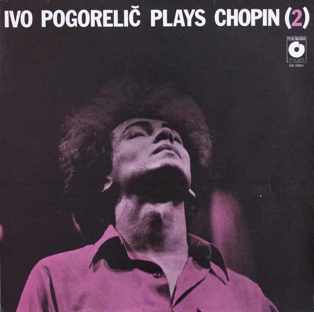 ポゴレリチのショパン /ピアノソナタ第2番「葬送行進曲付き」 ほか  ポーランドmuza 3139 LP レコード