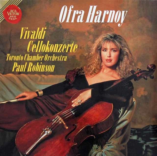 ハーノイのヴィヴァルディ/チェロ協奏曲集 独RCA 3139 LP レコード