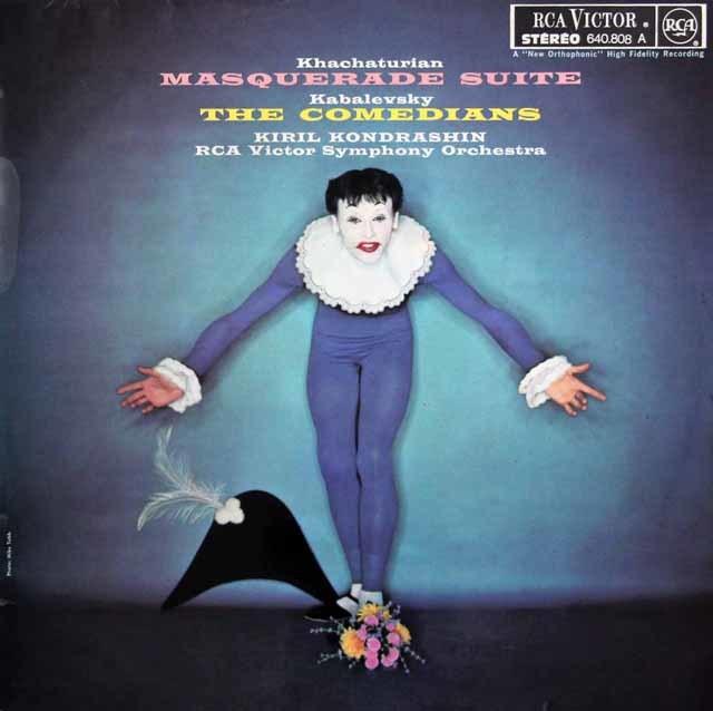 コンドラシンのハチャトゥリアン/組曲「仮面舞踏会」ほか 独RCA 3139 LP レコード