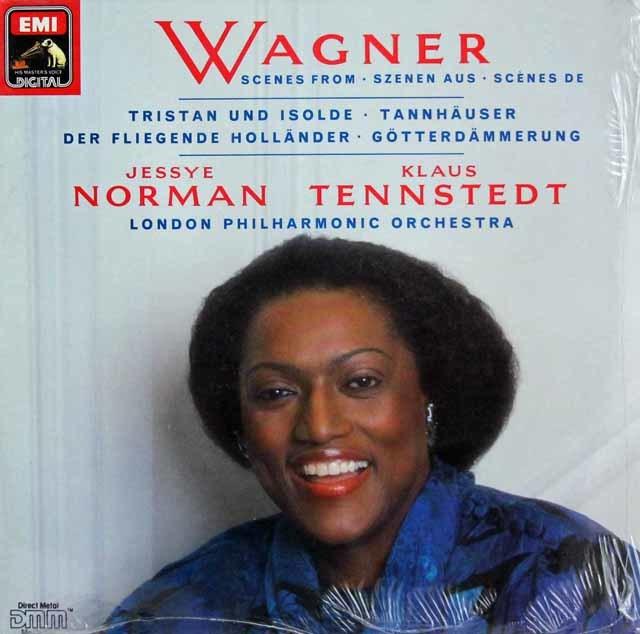 【未開封】ノーマン&テンシュテットのワーグナー/オペラ・アリア集 独EMI   3139 LP レコード