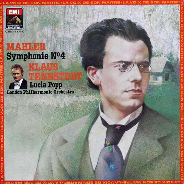 テンシュテットのマーラー/交響曲第4番 仏EMI(VSM) 3139 LP レコード