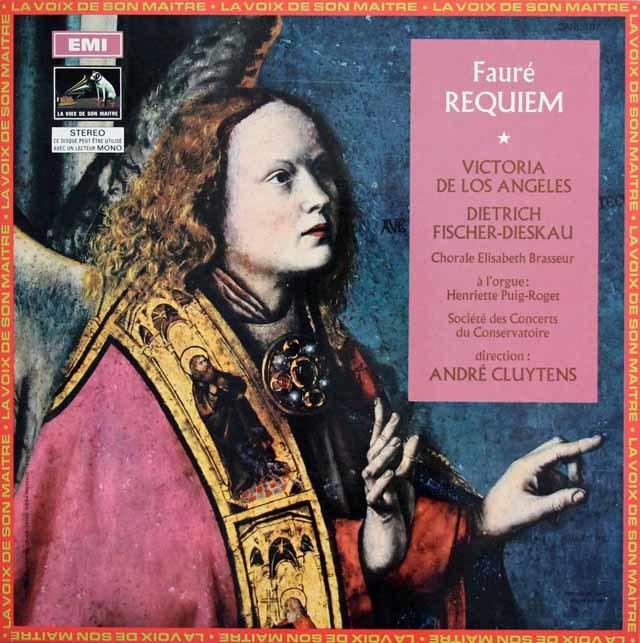 クリュイタンスのフォーレ/「レクイエム」 仏EMI(VSM) 3139 LP レコード