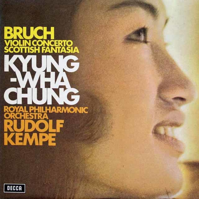 【オリジナル盤】チョン&ケンペのブルッフ/ヴァイオリン協奏曲第1番ほか 英DECCA 3139 LP レコード