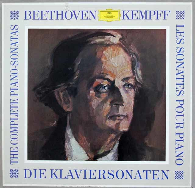 ケンプのベートーヴェン/ピアノソナタ全集 独DGG 3139 LP レコード