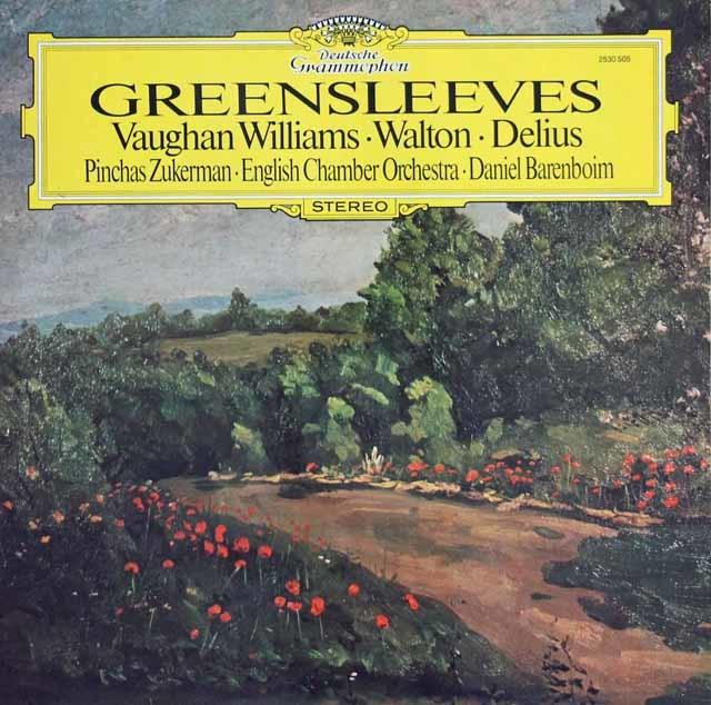 バレンボイムのイギリス管弦楽曲集 独DGG 3140 LP レコード
