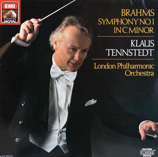 テンシュテットのブラームス/交響曲第1番 独EMI 3140 LP レコード