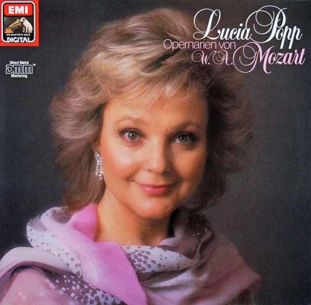 ポップのモーツァルト/オペラ・アリア集 独EMI 3140 LP レコード