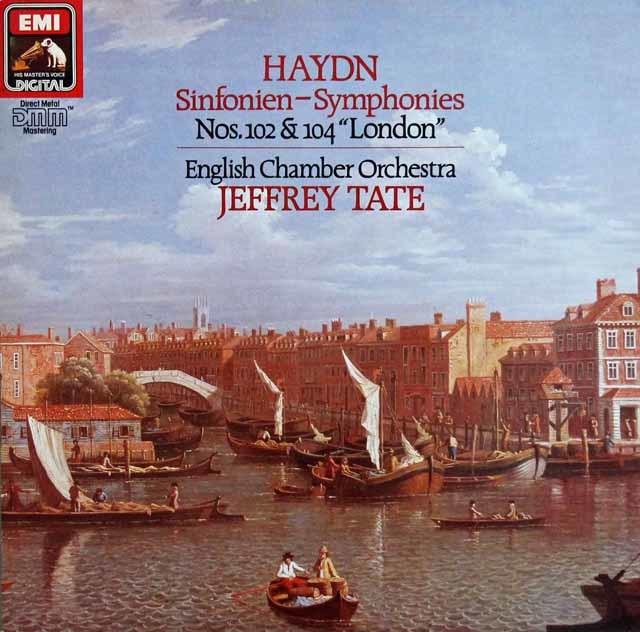 テイトのハイドン/交響曲第102番&104番「ロンドン」 独EMI 3140