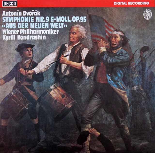 コンドラシンのドヴォルザーク/交響曲第9番「新世界より」 独DECCA 3140 LP レコード