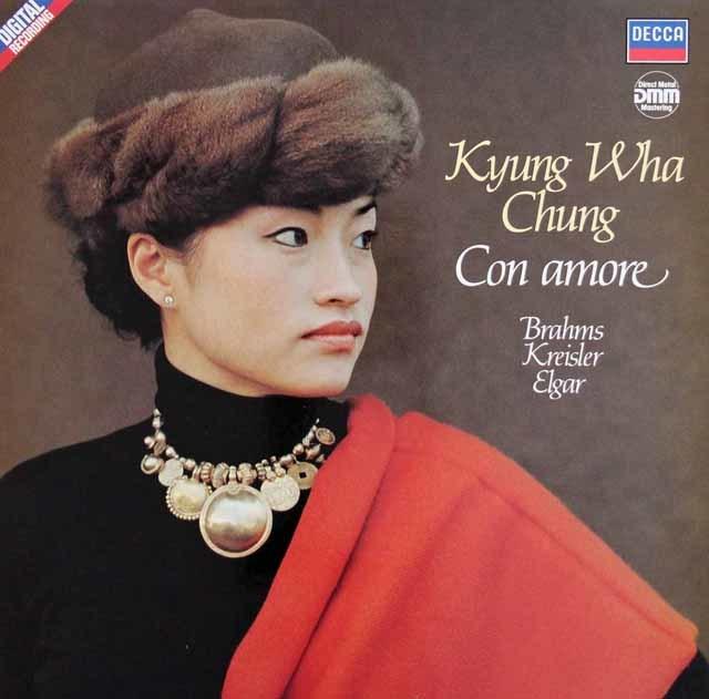 チョン・キョンファの「コン・アモーレ」 独DECCA 3140 LP レコード