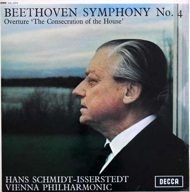 イッセルシュテットのベートーヴェン/交響曲第4番ほか 英DECCA 3140 LP レコード