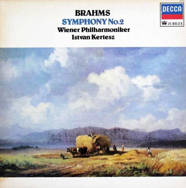 ケルテスのブラームス/交響曲第2番 英DECCA 3140 LP レコード