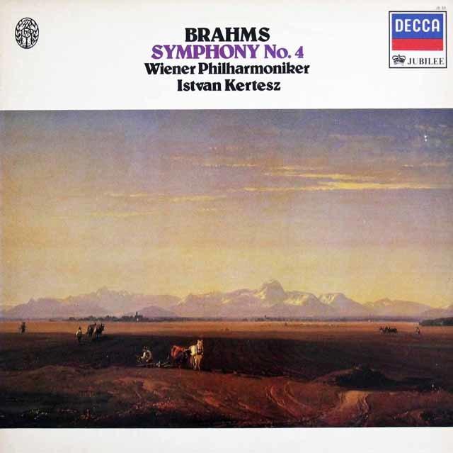 ケルテスのブラームス/交響曲第4番 英DECCA 3140 LP レコード