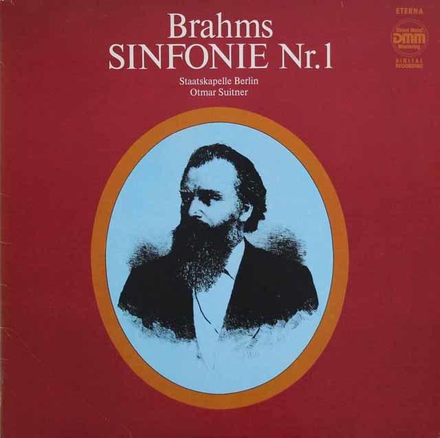 スイトナーのブラームス/交響曲第1番 独ETERNA 3140 LP レコード