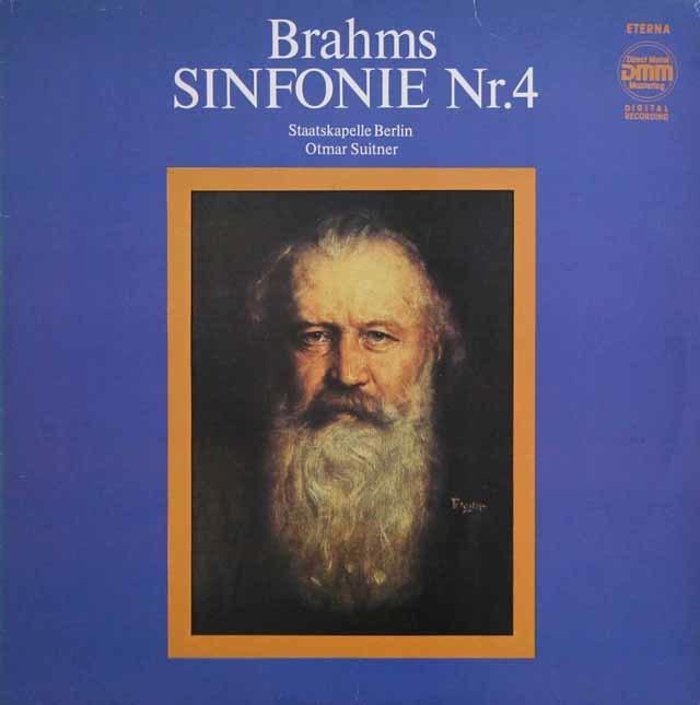 スイトナーのブラームス/交響曲第4番 独ETERNA 3140 LP レコード