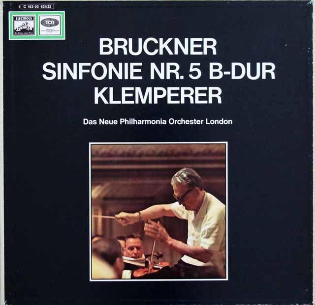 クレンペラーのブルックナー/交響曲第5番 独EMI 3140 LP レコード