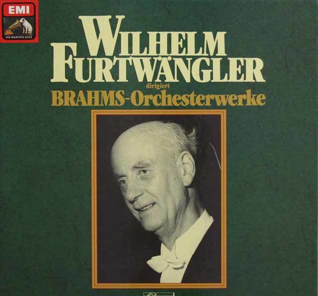フルトヴェングラーのブラームス/オーケストラ作品集 独EMI 3140 LP レコード