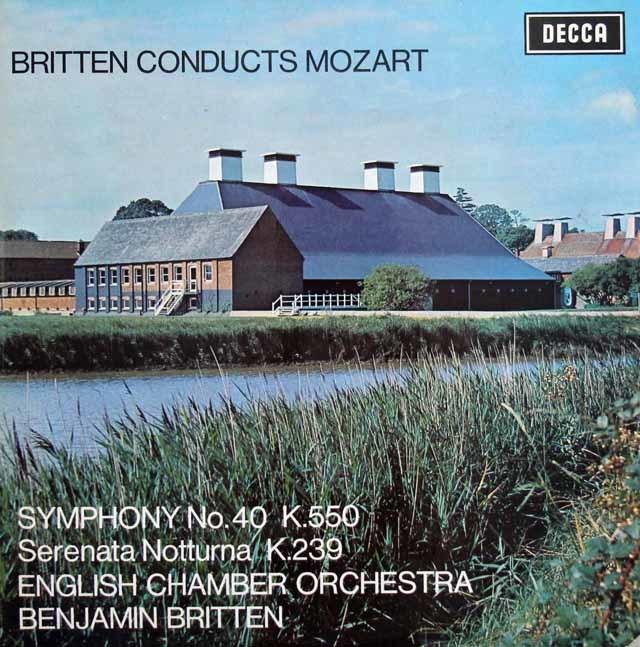 【オリジナル盤】ブリテンのモーツァルト交響曲第40番ほか 英DECCA 3141 LP レコード