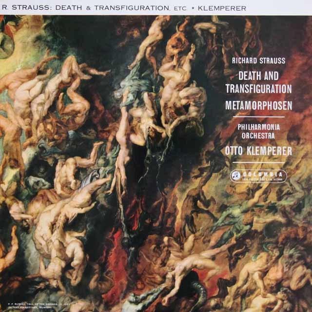 クレンペラーのR.シュトラウス/「死と変容」&「メタモルフォーゼン」 英Columbia 3141 LP レコード