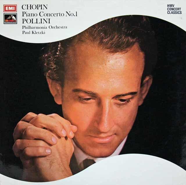 ポリーニのショパン/ピアノ協奏曲第1番 英EMI 3141 LP レコード