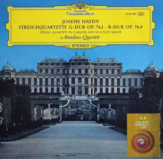 アマデウス四重奏団のハイドン/「日の出」ほか 独DGG 3141 LP レコード