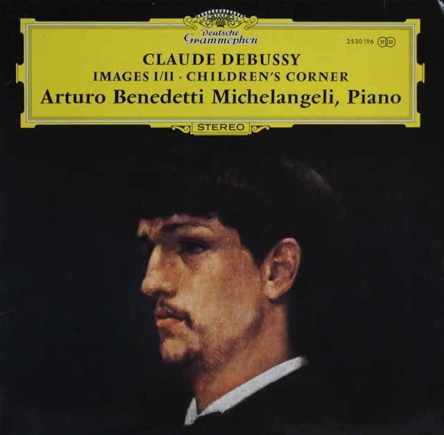ミケランジェリのドビュッシー/「映像第1&2集」&「子供の領分」 独DGG 3141 LP レコード