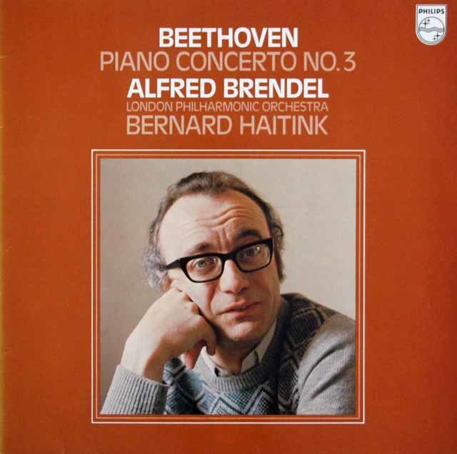 ブレンデル&ハイティンクのベートーヴェン/ピアノ協奏曲第3番 蘭PHILIPS 3141 LP レコード