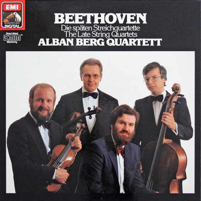 アルバン・ベルク四重奏団のベートーヴェン/後期弦楽四重奏曲集 独EMI 3141 LP レコード