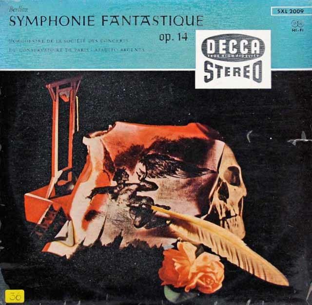 【独オリジナル盤】アルヘンタのベルリオーズ/幻想交響曲 独DECCA 3141 LPレコード