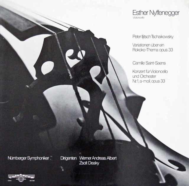 ニッフェネッガーのチャイコフスキー/ロココの主題による変奏曲ほか 独colosseum 3141 LP レコード