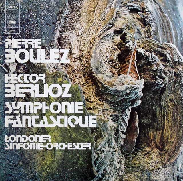 ブーレーズのベルリオーズ/幻想交響曲 独CBS 3141 LP レコード