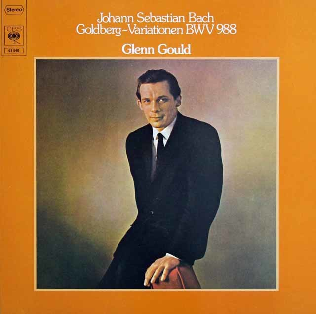 グールドのバッハ/ゴルトベルク変奏曲 独CBS 314152 LP レコード
