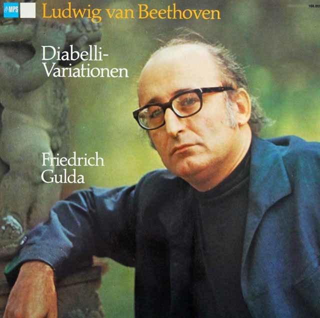グルダのベートーヴェン/ディアベリ変奏曲 独MPS 3141 LP レコード
