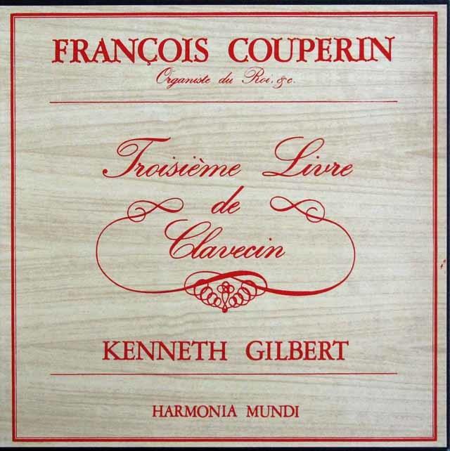 ギルバートのクープラン/クラヴサン曲集第3集 仏HM 3141 LP レコード