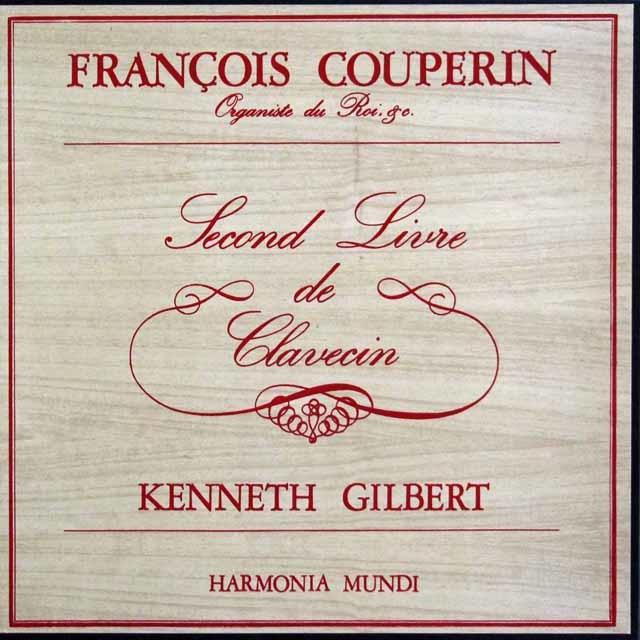 ギルバートのクープラン/クラヴサン曲集第2集 仏HM 3141 LP レコード
