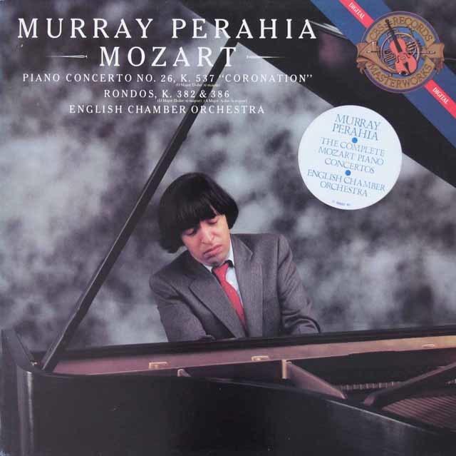 ペライアのモーツァルト/ピアノ協奏曲第26番「戴冠式」ほか 蘭CBS 3142 LP レコード