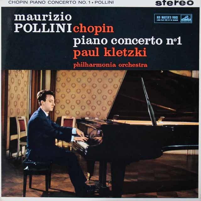 ポリーニ&クレツキのショパン/ピアノ協奏曲第1番 英EMI(HMV) 3142 LP レコード